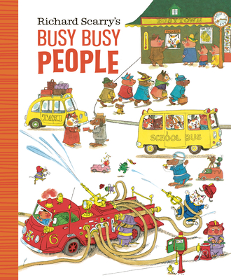 Image for Richard Scarry's Busy Busy People (Richard Scarry's BUSY BUSY Board Books)