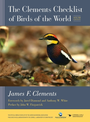 Image for CLEMENTS CHECKLIST OF BIRDS OF THE WORLD