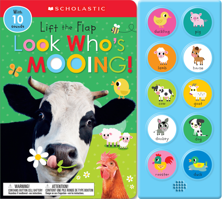 Image for Look Who's Mooing!: Scholastic Early Learners (Sound Book)