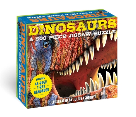 Image for DINOSAURS: A 550-PIECE JIGSAW PUZZLE AND BOOK