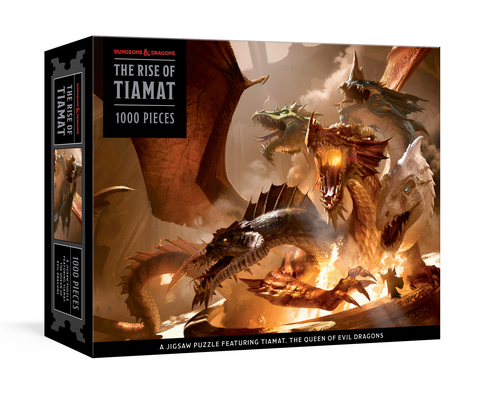 Image for The Rise of Tiamat Dragon Puzzle (Dungeons & Dragons): 1000-Piece Jigsaw Puzzle Featuring the Queen of Evil Dragons: Jigsaw Puzzles for Adults